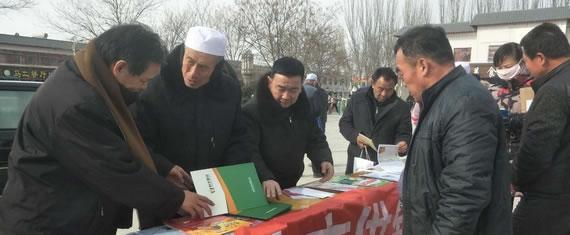 宁夏吴忠市社:开展文化科技卫生